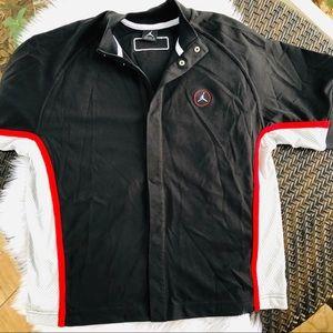 Jordans /Nike youth button up jersey jacket